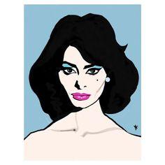 High end Handcrafted Illustrations and Designs. A whole world of fashion designs to enjoy. Sophia Loren, House Illustration, Italian Beauty, Illustrators On Instagram, Insta Art, World Of Fashion, Pixel Art, Pop Art, Aurora Sleeping Beauty