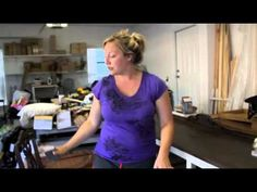 Annie Sloan chalk paint: Distressing video.