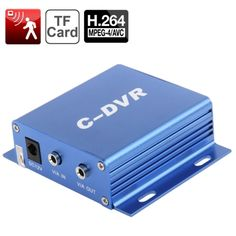 [USD20.29] [EUR19.02] [GBP14.87] C-DVR 1-CH Mini Digital Video Recorder with Motion Detected / Mixing / Audio / Loop Recording, Support TF Card up to 32GB