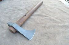 HAND FORGED EASTERN WOODLAND POLL TOMAHAWK BY DYLAN MCCOUN WAR AXE VIKING