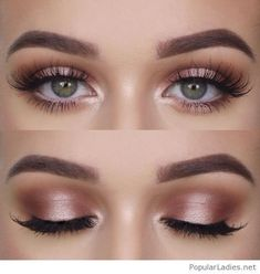 Natural makeup for green eyes, love it - - Natural makeup for green eyes, love it Beauty Makeup Hacks Ideas Wedding Makeup Looks for Women Makeup Tips Prom Makeup ideas Cut Natural Makeup Hallo. Beauty Make-up, Beauty Hacks, Beauty Tips, Beauty Products, Natural Makeup Products, Style Rose, Purple Style, Natural Summer Makeup, Simple Prom Makeup