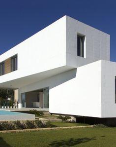 """Ascoz Arquitectura. Vivienda """"Mikado"""". Hormigón."""