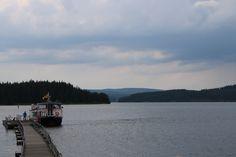 The Osprey Ferry docking  - Photography by Jonathan Webb