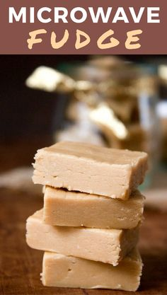 This Microwave Fudge is not only delicious but is the simplest recipe EVER!