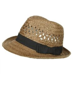 Open Weave Fedora - Teen Clothing by Wet Seal - StyleSays