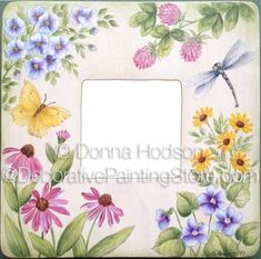 The Decorative Painting Store: Wildflowers Pattern - Donna Hodson, Newly Added Painting Patterns / e-Patterns