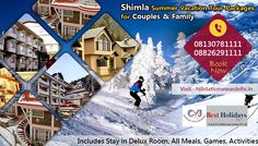 Looking for Best Hotels in shimla for your holidays make your holidays Memorable and enjoy book now call-08130781111