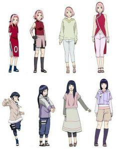 Sakura y Hinata