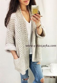 ideas for crochet sweater pattern bulky Knitted Jackets Women, Cardigans For Women, Jackets For Women, Crochet Cardigan, Wool Cardigan, Knit Dress, Batwing Cardigan, Drape Cardigan, Popular Outfits