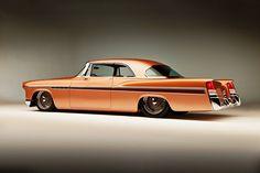 Visit The MACHINE Shop Café... ❤ Best of Street @ MACHINE ❤ ('56 Chrysler 300B by Rad Rods)