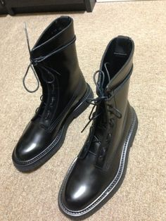 Dior Dior Homme Combat Boots 07 Size 9 $1025 - Grailed