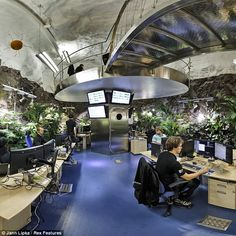 Pionen data centre - former Cold War nuclear bunker, used by WikiLeaks
