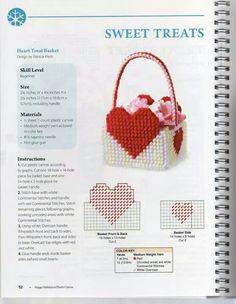 HEARTS TREAT BASKET by PATRICIA KIESH