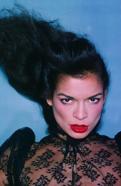 Bianca Jagger from the by fashion photographer Chris von Wangenheim.