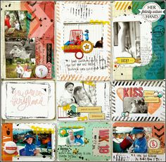 Off the Rails Scrapbooking - challenge Free For All - DT Member Felicity