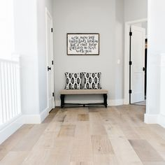 montpelier oak wood flooring, sold at Floor & Decor - nice blend of grey and browns PERFECT FOR KITCHEN! wood floors grey walls Our House Remodel: Flooring Reveal Wood Floor Colors, Floor Remodel, Home Remodeling, Interior, House Flooring, Home Decor, House Interior, Floor Decor, Home Renovation
