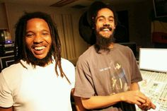 Stephan and Damian Marley