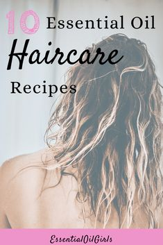 Make your own DIY hair care recipes with the ideas using essential oils. #essentialoils #haircare #aromatherapy #diy #recipes Essential Oils For Anxiety, Clary Sage Essential Oil, Geranium Essential Oil, Best Essential Oils, Essential Oil Blends, Argan Oil Dandruff, Relaxing Oils, Hair Care Recipes, Hair Essentials