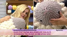 Mesmerizing Crochet an Amigurumi Rabbit Ideas. Lovely Crochet an Amigurumi Rabbit Ideas. Baby Knitting Patterns, Knitting Yarn Diy, Amigurumi Patterns, Easter Crochet, Diy Crochet, Crochet Hats, Knitted Pouf, T Shirt Yarn, Felt Toys