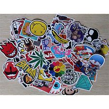Available to buy for another 29d 7h is 50 Pcs Stickers Skateboard Sticker Graffiti Laptop Luggage Car Decals mix lot for $2.55 $2.55.