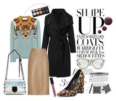 """""""Roar Higher"""" by love-blair-serena ❤ liked on Polyvore featuring Gucci, Jimmy Choo, By Malene Birger, Oliver Peoples, Pour La Victoire, Mark Broumand, Witchery, Smashbox and Topshop"""