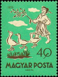 ◇Hungary  1959    Matt, the Goose Boy
