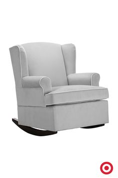 The Eddie Bauer Wingback Rocker offers a beautiful blend of classic and modern style. The high seat back and raised arms help you stay comfortable while your Baby drifts off to dreamland.