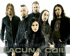 Lacuna Coil!!! I love that they have two vocals.