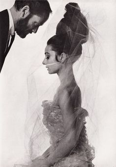 Audrey Hepburn and Mel Ferrer photographed by Bert Stern for Vogue Paris, May 1963. @thecoveteur