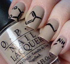organic chemistry nails / manicure