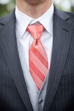 Coral ties??? nikkie-s-wedding