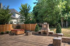 Image result for patio with a hot tub