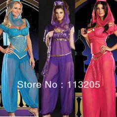 2014 Women New Fashion 3 Colors:Blue+Red+Purple Stage & Dance Wear Belly Dancing Costume Wear $19.99