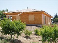 Maison en bois DD130 - 130m2 - Alpes-Maritimes (06)