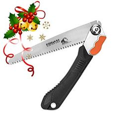 EverSaw Folding Hand Saw All-Purpose, Wood, Bone, PVC. Best for Tree Pruning, Camping, Hunting, Toolbox