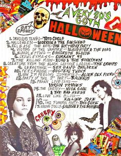 """i've made a ton of halloween mixtapes before but i always use the same songs so this year i wanted to do something different. not all of the songs are """"halloween"""" but. Halloween Town, Happy Halloween, Halloween Music, Halloween 2018, Holidays Halloween, Halloween Crafts, Halloween Decorations, Halloween Costumes, Halloween Movies"""