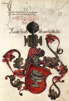 Arnold Truchsess von Wolhusen, WS 1464/5 (p.18r] -- «Rektoratsmatrikel der Universität Basel» [Universitätsbibliothek, AN II 3]