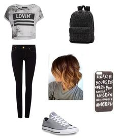 """""""Untitled #5"""" by tanyatumer-1 ❤ liked on Polyvore featuring Converse, True Religion, Religion Clothing, Vans, JFR, women's clothing, women, female, woman and misses"""