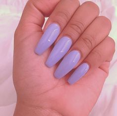 Lavender Coffin Nails