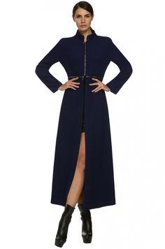 Zeagoo Fashion Cool Ladies Women Stylish Autumn Winter Multi Wear Method Woolen Coat_Jackets & Coats_TOPS_CLOTHING_The Latest Trends & Fashion Clothing For Women Online Store-www.dressin.com