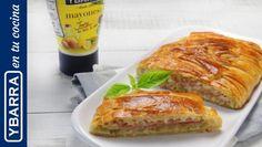 Comparte Recetas - Trenza de calabacín, York y mayonesa