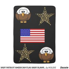 Wrap your bundle of joy in American baby blankets from Zazzle! Cozy comfort for little ones in a huge range of designs. Buy a personalized baby blanket now! American Baby, American Flag, Newborn Gifts, Baby Gifts, What Is Digital, Personalized Baby, Kids Gifts, Cute Gifts, Little Ones