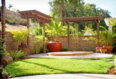 Pergola With Privacy Design Ideas, Pictures, Remodel and Decor