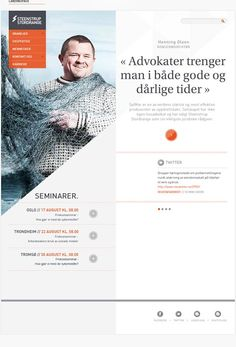 Steenstrup Stordrange - #webdesign #design