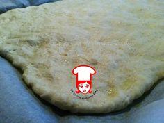 Impasto pizza con patate