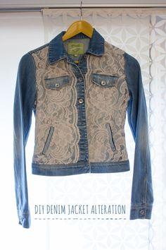 Show me Pretty   DIY Denim Jacket Alteration   http://www.showmepretty.com