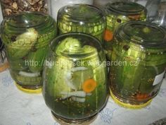 This is a category archive for Zavařeniny Korn, Pickles, Cucumber, Food To Make, Frozen, Food And Drink, Smoothie, Homemade, Canning