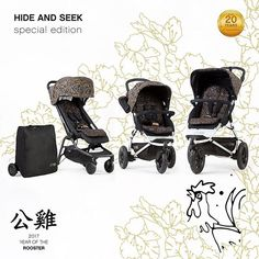 In celebration of the Chinese Zodiac and the Year of the Rooster 2017, we are very excited to announce our latest special edition print, 'hide and seek' is now available in full nano, swift and urban jungle buggies, in carrycot plus for swift and urban jungle OR as a colour pack to customise your current Buggy.  This design encapsulates the beauty, essence and powerful traits of the Rooster, such as charm, confidence and style; bringing a charismatic feel that allows you to stand out from…