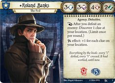 Arkham Horror: The Card Game | Roland Banks the Fed