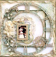 ~Blue Fern Studios~ Key to my Heart - Scrapbook.com